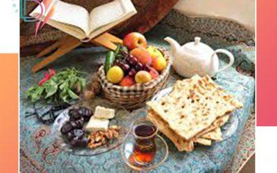 برنامه غذایی ماه رمضان