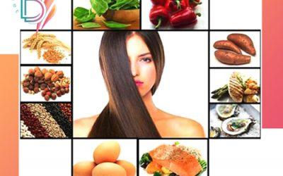 غذاهای افزایش دهنده رشد مو
