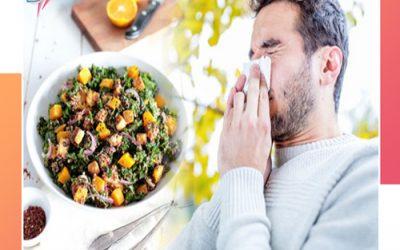 آلرژی و رژیم تغذیه مناسب